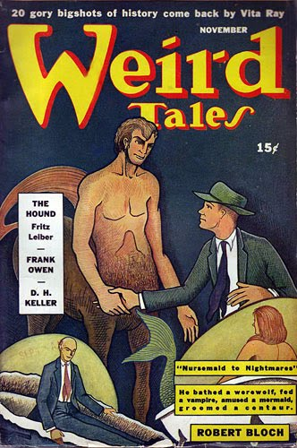 Fritz Leiber on Weird Tales (1942)