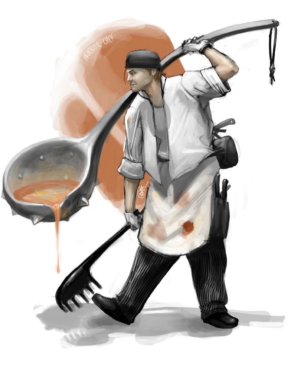 warrior chef
